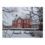 Maryland Governor's Mansion Postcard