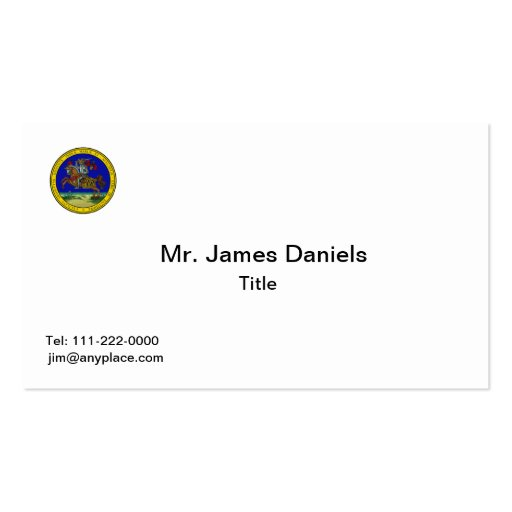 Maryland Great Seal Business Card Templates