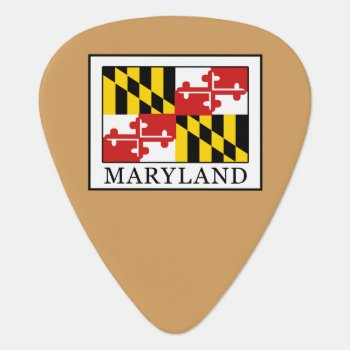 Maryland Guitar Pick by KellyMagovern at Zazzle