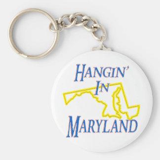 Maryland - Hangin' Keychain