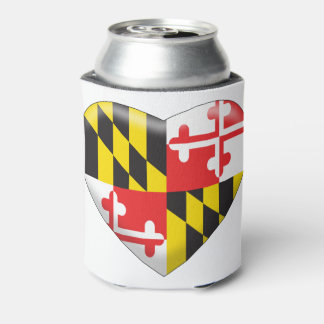Maryland Heart Can Cooler