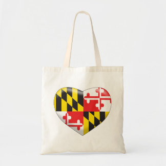 Maryland Heart Tote Bag