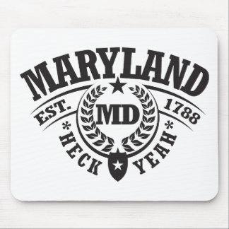 Maryland, Heck Yeah, Est. 1788 Mouse Pad