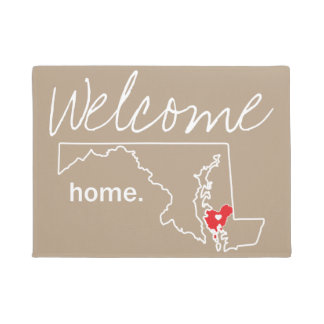 Maryland Home County Door Mat - Dorchester co.