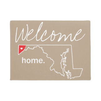 Maryland Home County Door Mat - Garrett Co.