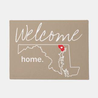Maryland Home County Door Mat - Harford co.