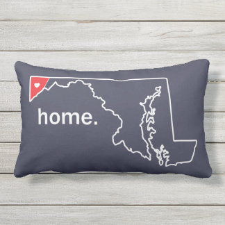 Maryland Home County pillow - Garrett co.