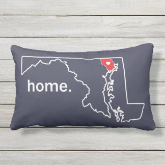 Maryland Home County pillow - Harford co.