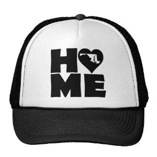 Maryland Home Heart State Ball Cap Trucker Hat