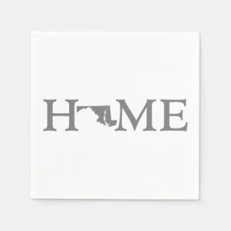 Maryland Home State Paper Napkin