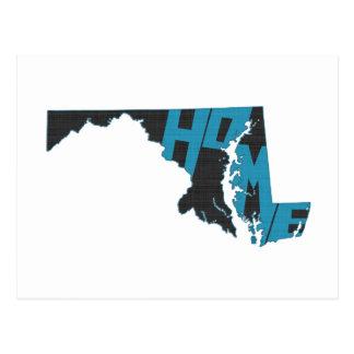 Maryland Home State Postcard