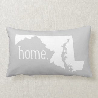 Maryland Home State Throw Pillow