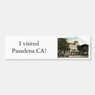 Maryland Hotel, Pasadena CA c1920s Bumper Sticker