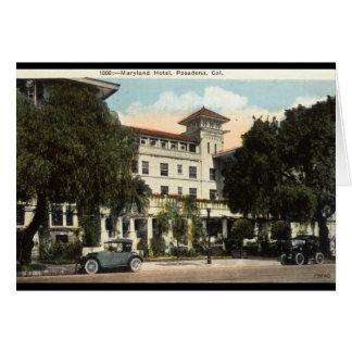 Maryland Hotel, Pasadena CA c1920s Card