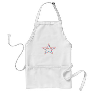 Maryland in a star adult apron