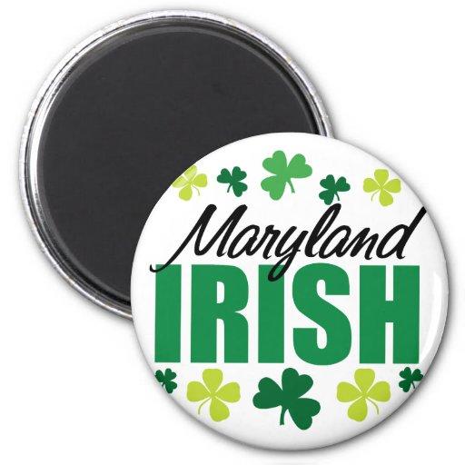 Maryland Irish Fridge Magnets