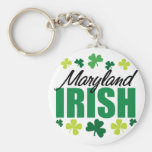 Maryland Irish Key Chain