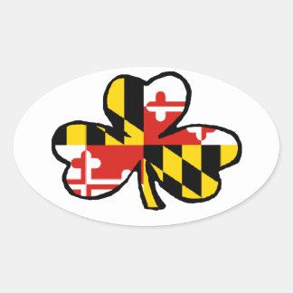 Maryland Irish Sticker