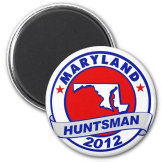 Maryland Jon Huntsman 2 Inch Round Magnet