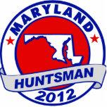 Maryland Jon Huntsman Acrylic Cut Out