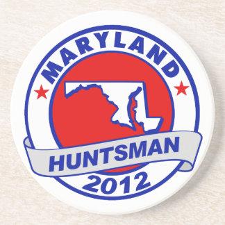 Maryland Jon Huntsman Drink Coaster