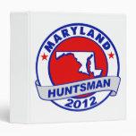 Maryland Jon Huntsman Vinyl Binder