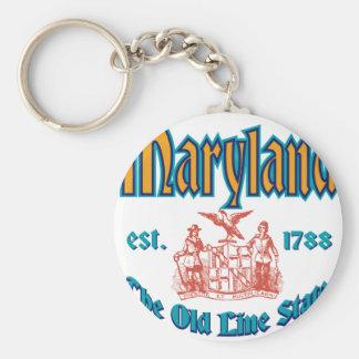 Maryland Keychain