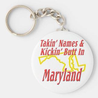 Maryland - Kickin' Butt Keychain