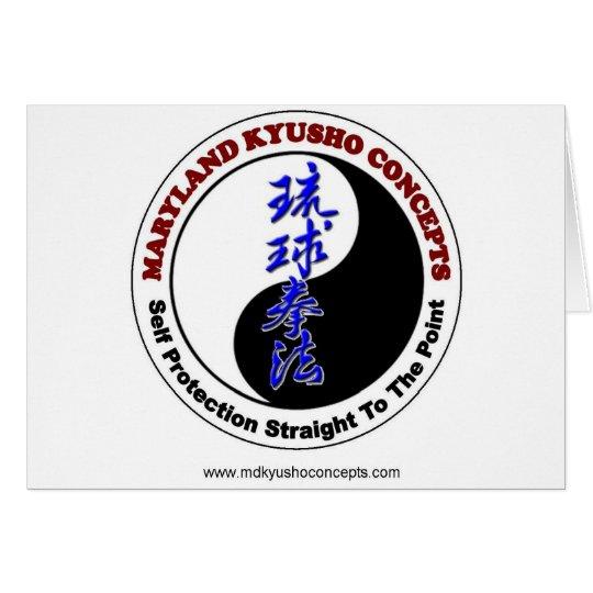 Maryland Kyusho Concepts Card
