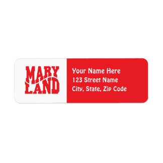 Maryland Label