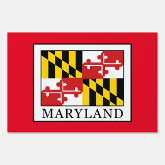 Maryland Lawn Sign