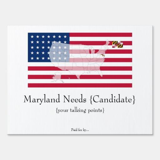 ¡Maryland le necesita!
