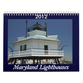 Maryland Lighthouses Calendar
