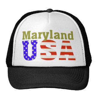 ¡Maryland los E E U U Gorras De Camionero