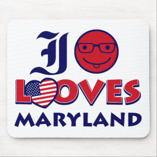 maryland lovers design mouse pad