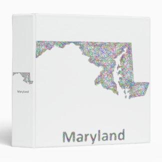 Maryland map binder