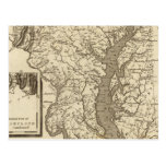 Maryland Map by Arrowsmith Post Cards
