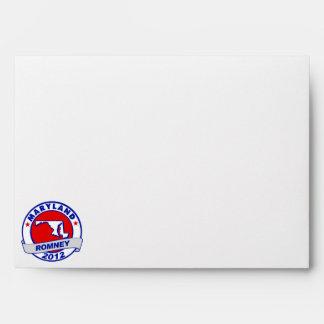 Maryland Mitt Romney Envelopes