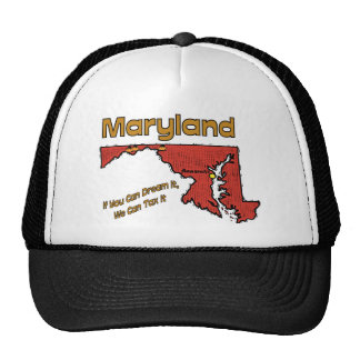 Maryland Motto If You Can Dream It We can Tax it Hats