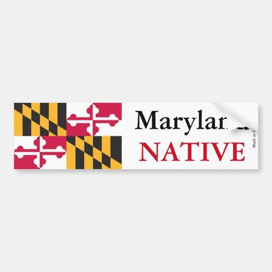 Maryland Native Plants: Maryland Native Bumper Sticker