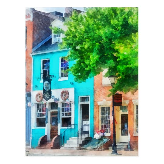Maryland - Neighborhood Pub Fells Point MD Postcard