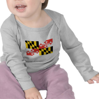 Maryland Official State Flag Tshirt