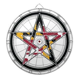 Maryland Pagan transparent Dartboard