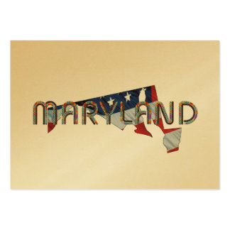 Maryland Patriot Business Card Template