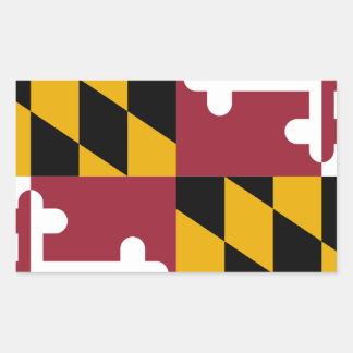 Maryland Pegatina Rectangular
