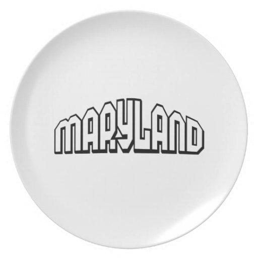 Maryland Plato Para Fiesta