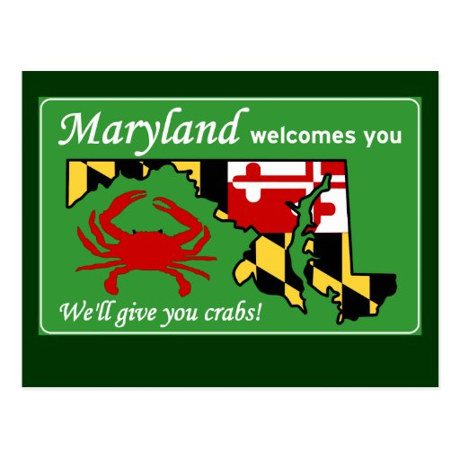 Maryland Post Card