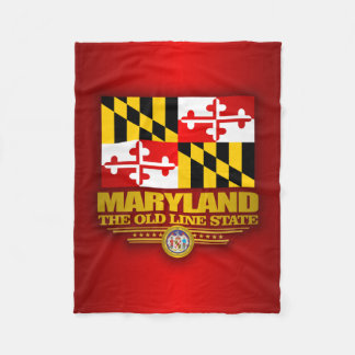 Maryland Pride Fleece Blanket