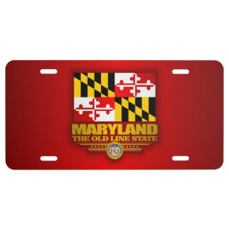 Maryland Pride License Plate