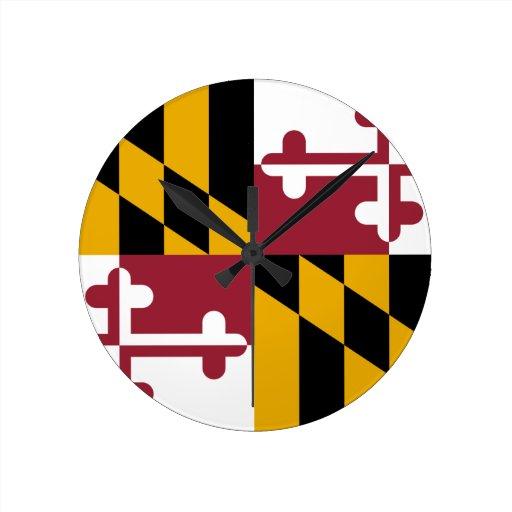Maryland Reloj Redondo Mediano